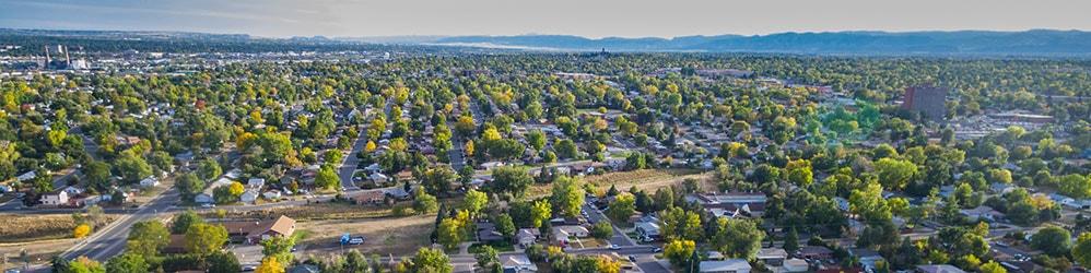 View of suburben neighborhood